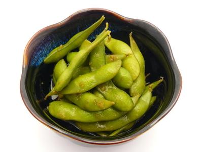 ぽん酢とゆずこしょうでピリ辛枝豆.JPG