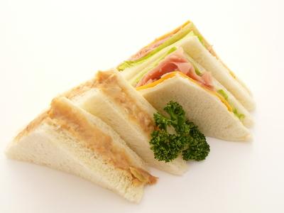 ゆずこしょうマヨネーズのサンドイッチ.JPG
