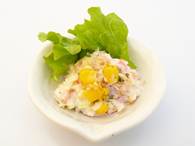 ゆずぽん酢とゆずこしょうを使ったコールスローサラダ.JPG