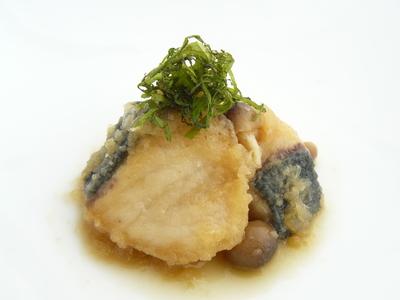 ゆずぽん酢のブリのみぞれ煮.JPG