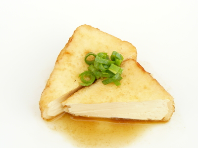 揚げ出し豆腐ゆずぽん酢で.JPG